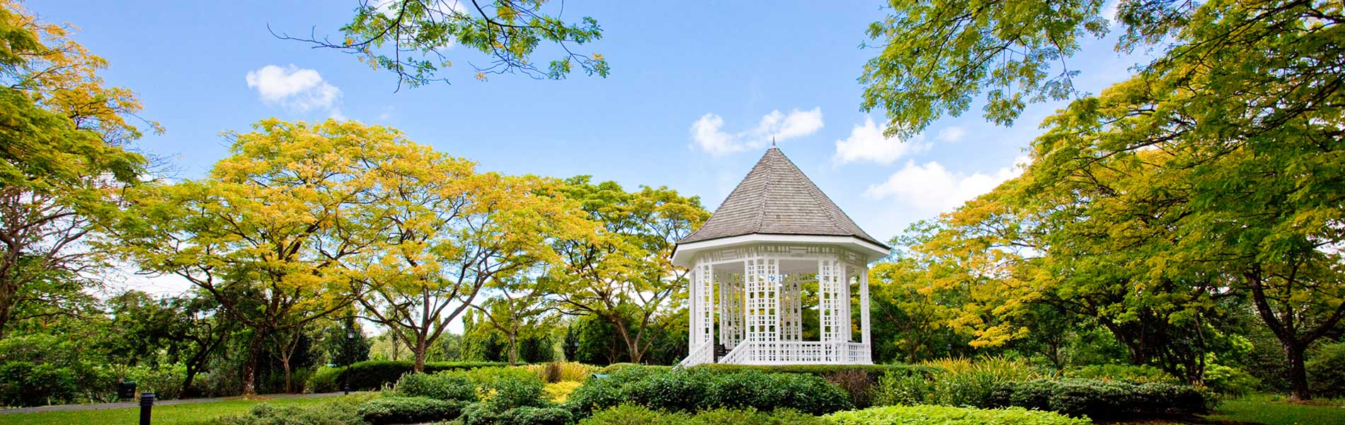 Bandstand at Singapore Botanic Gardens
